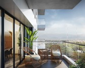 80-100 sqft cantilever balconies that connects apartments and makes you feel like you are gliding on air.